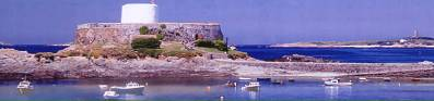Fort Grey on Guernsey's West Coast