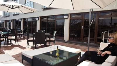 The Club Hotel + Spa - Roof Terrace